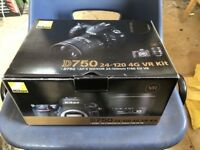 Nikon D750 - In Black 24.3MP - Body Only - Cheap