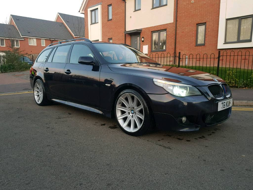 370hp bmw e61 535d m sport touring in northampton. Black Bedroom Furniture Sets. Home Design Ideas