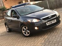 2008 FORD FOCUS 1.6 ZETEC PETROL MANUAL 5 DOOR HATCHBACK BLACK MOT CHEAP CAR FACELIFT MODEL NEW