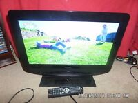 19 inch ferguson freeview tv + remote hdmi input etc /// dvd not working hence ....