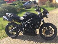 Triumph Street Triple R 2012 (62 Plate). 4,800 miles FSH, lots of nice extras.