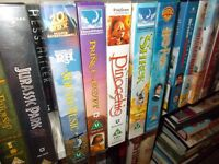 Assorted Films on VHS Video