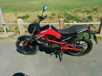 Kymco k pipe 50 63 plate long mot semi auto pit bike monkeybike