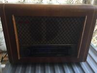 Cambridge PYE P75 vintage tube radio
