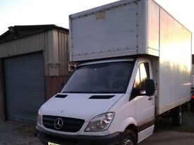 Tony's Removals: 2 man Full house removals and clearances. large clean van.