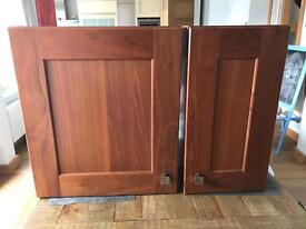 Matching pair of bathroom cabinets