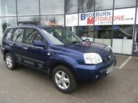 2005 05 NISSAN X-TRAIL 2.2 SE DCI 5d 135 BHP FREE 12 MONTHS MOT **** GUARANTEED FINANCE ****