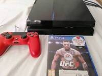 Sony Playstation 4 with 6 games and 4 months ps plus