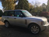 Land Rover Range Rover vogue 3.6TDV8 ,Lovely car in excellent condition, FSH, 2 owners