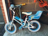 Free Cinderella bike with stabalisers