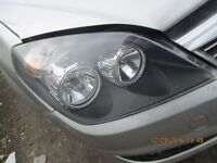 Vauxhall astra 2007 mk5 facelift Front headlights