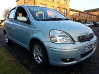 ★ EXTREMELY RARE, GENUINE, VERY LOW MILEAGE AUTO ★ 3 MONTH WARR ★ DEC 2003 Toyota Yaris 5 dr 1.3, T