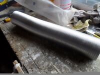 Aluminium Ducting 100mm x 3.7 m