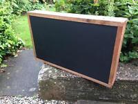 Chalkboard double sided chalkboard menu free standing chalkboard