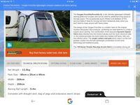 Caravan/motorhome inflatable PorchAwning
