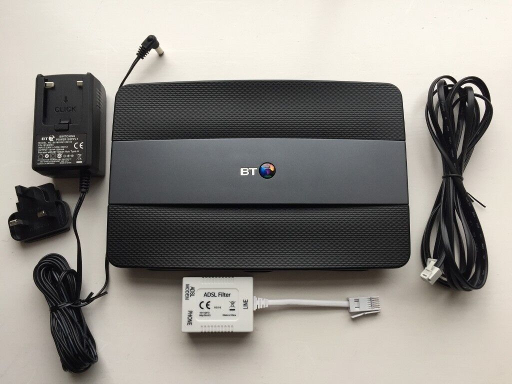 Bt Smart Hub Home 6 Wireless Router Type A In Sheffield Use Laptop As