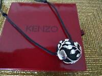 Kenzo Solid Silver Necklace