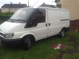 ford transit 05 reg sell or swap