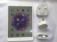iPad MINI 16gb, WIFI + CELLULAR (EE), CASE, HEADPHONES