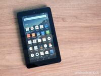 Fire 7 amazon like new only tablet 30£