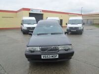 2000 volvo hearse with twin decks just drove home from london mint condition mot to 2017 £5000 no va