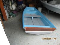 8ft Fibreglass Tender Boat