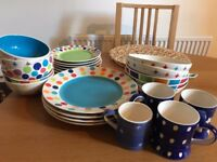 Assorted Whittard Crockery
