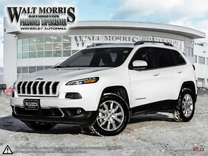 2016 Jeep Cherokee Limited - LEATHER, REAR VIEW  CAMERA, HEATED