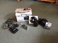 Canon EOS 1100D Camera + extra