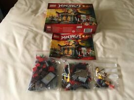 LEGO 70756 Ninjago Dojo Showdown Set (Used)