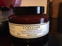 l'Occitane Aromachologie Relaxing Body Cream - UNOPENED