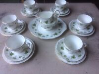 DUTCHESS IVY PATTERN 21pc TEA SET
