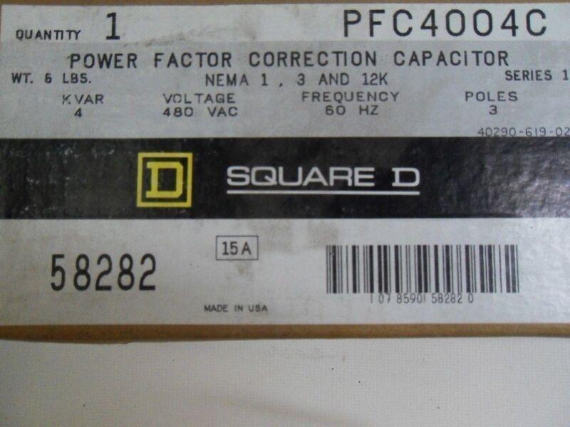 (H15) 1 SQUARE D PF4004C CAPACITOR