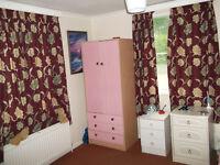 Children's Pink Wardrobe With Drawers