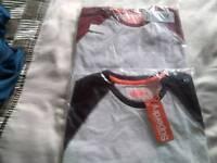2 brand new superdry mens small tshirts