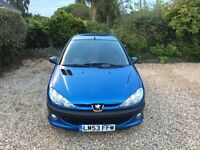 Peugeot , 206 , petrol , manual , 5 door , 1400cc , low milleage only 38k