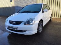 2003 HONDA CIVIC 1.7 DIESEL ***FULL YEARS MOT*** similar to golf megane 308 mondeo focus astra