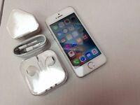 Apple iPhone 5s 64GB, Silver, Unlocked, +WARRANTY, NO OFFERS