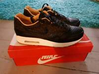 Nike air max one else fb woven leopard size 8