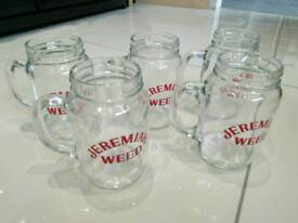 Jeremiah Weed Drinking Glasses Wedding BBQ Party