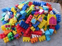 Big bag of duplo blocks