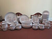 Denby Encore Dinner and Tea Services 56 pieces