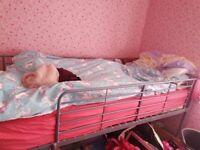 Girls mid sleeper bed