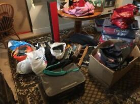 Job lot of house clearance perfect for carboot.