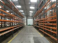 job lot 50 bays of dexion pallet racking AS NEW( storage , shelving )