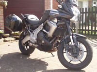 Kawasaki Versys 650cc Very low mileage. Lots of extras.