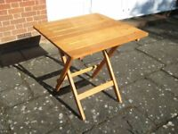 Garden Table (folding) - High Quality Hardwood at a fraction of the cost of new