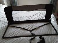 BabyDan Sleep n Safe Black Universal Bed Guard. Good clean condition