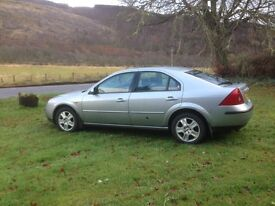 For Sale Ford Mondeo Ghia 2002
