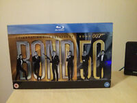 007 James Bond 50 Blu-Ray (24 film set)